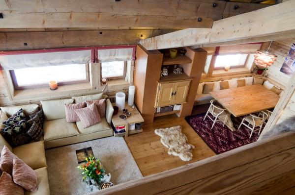 Ferr arredamenti realizzazioni case private for Case in stile chalet