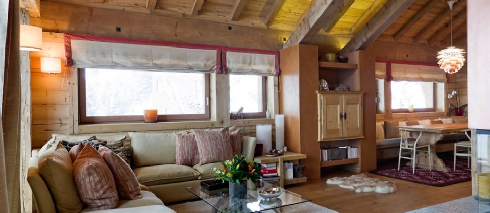 Ferr arredamenti chalet di montagna realizzazioni for Piani di casa in stile acadiano
