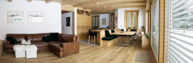 Ferr arredamenti appartamento in montagna for Appartamento design interni